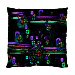 Digital Painting Colorful Colors Light Standard Cushion Case (two Sides)
