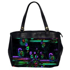 Digital Painting Colorful Colors Light Office Handbags (2 Sides)