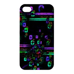 Digital Painting Colorful Colors Light Apple Iphone 4/4s Hardshell Case