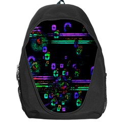 Digital Painting Colorful Colors Light Backpack Bag