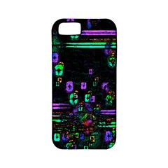 Digital Painting Colorful Colors Light Apple iPhone 5 Classic Hardshell Case (PC+Silicone)