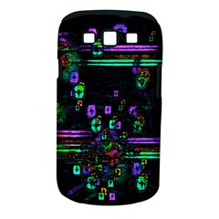 Digital Painting Colorful Colors Light Samsung Galaxy S Iii Classic Hardshell Case (pc+silicone)