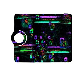 Digital Painting Colorful Colors Light Kindle Fire HDX 8.9  Flip 360 Case