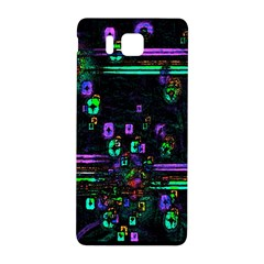 Digital Painting Colorful Colors Light Samsung Galaxy Alpha Hardshell Back Case