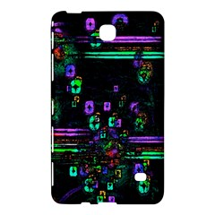 Digital Painting Colorful Colors Light Samsung Galaxy Tab 4 (8 ) Hardshell Case