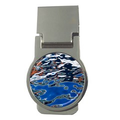 Colorful Reflections In Water Money Clips (Round)