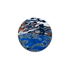 Colorful Reflections In Water Golf Ball Marker (4 pack)