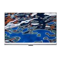 Colorful Reflections In Water Business Card Holders