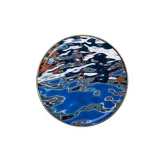 Colorful Reflections In Water Hat Clip Ball Marker