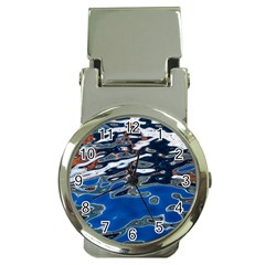 Colorful Reflections In Water Money Clip Watches