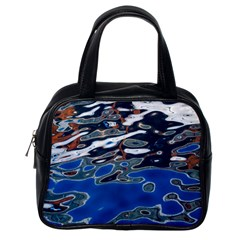 Colorful Reflections In Water Classic Handbags (One Side)
