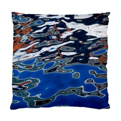 Colorful Reflections In Water Standard Cushion Case (one Side)