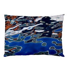 Colorful Reflections In Water Pillow Case