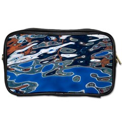 Colorful Reflections In Water Toiletries Bags