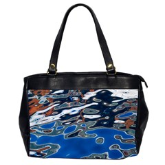 Colorful Reflections In Water Office Handbags (2 Sides)