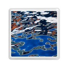 Colorful Reflections In Water Memory Card Reader (square)