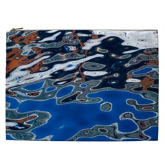 Colorful Reflections In Water Cosmetic Bag (xxl)