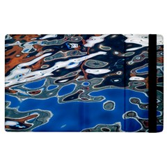Colorful Reflections In Water Apple iPad 2 Flip Case