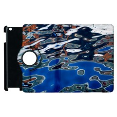 Colorful Reflections In Water Apple Ipad 2 Flip 360 Case