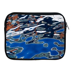 Colorful Reflections In Water Apple iPad 2/3/4 Zipper Cases