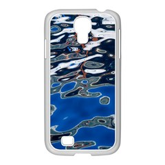 Colorful Reflections In Water Samsung GALAXY S4 I9500/ I9505 Case (White)