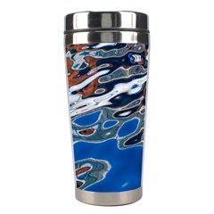 Colorful Reflections In Water Stainless Steel Travel Tumblers