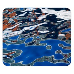Colorful Reflections In Water Double Sided Flano Blanket (small)