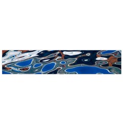 Colorful Reflections In Water Flano Scarf (Small)