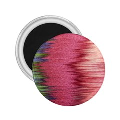 Rectangle Abstract Background In Pink Hues 2.25  Magnets