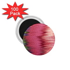 Rectangle Abstract Background In Pink Hues 1 75  Magnets (100 Pack)
