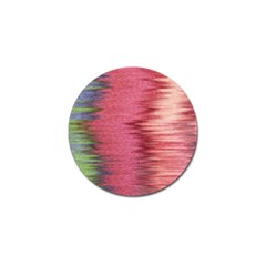 Rectangle Abstract Background In Pink Hues Golf Ball Marker (10 Pack)