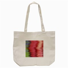 Rectangle Abstract Background In Pink Hues Tote Bag (cream)