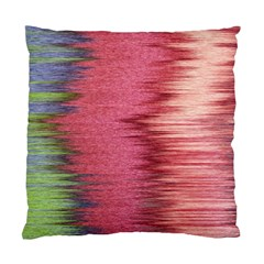 Rectangle Abstract Background In Pink Hues Standard Cushion Case (one Side)