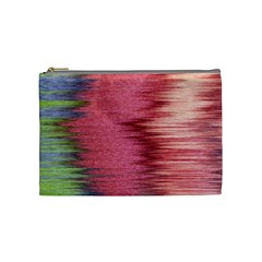 Rectangle Abstract Background In Pink Hues Cosmetic Bag (medium)