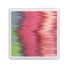 Rectangle Abstract Background In Pink Hues Memory Card Reader (square)