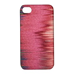 Rectangle Abstract Background In Pink Hues Apple iPhone 4/4S Hardshell Case with Stand