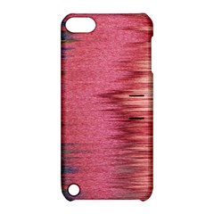 Rectangle Abstract Background In Pink Hues Apple iPod Touch 5 Hardshell Case with Stand