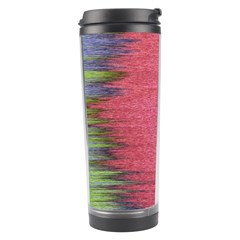 Rectangle Abstract Background In Pink Hues Travel Tumbler