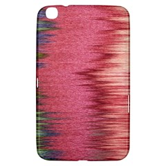 Rectangle Abstract Background In Pink Hues Samsung Galaxy Tab 3 (8 ) T3100 Hardshell Case