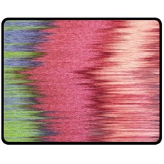 Rectangle Abstract Background In Pink Hues Double Sided Fleece Blanket (Medium)