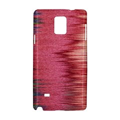 Rectangle Abstract Background In Pink Hues Samsung Galaxy Note 4 Hardshell Case