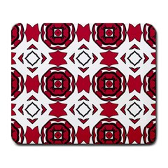 Seamless Abstract Pattern With Red Elements Background Large Mousepads