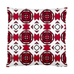 Seamless Abstract Pattern With Red Elements Background Standard Cushion Case (two Sides)
