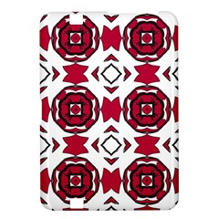 Seamless Abstract Pattern With Red Elements Background Kindle Fire Hd 8 9