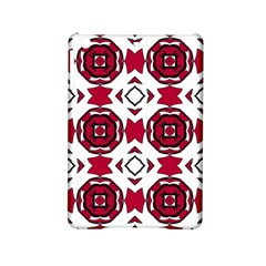 Seamless Abstract Pattern With Red Elements Background Ipad Mini 2 Hardshell Cases