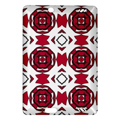 Seamless Abstract Pattern With Red Elements Background Amazon Kindle Fire HD (2013) Hardshell Case