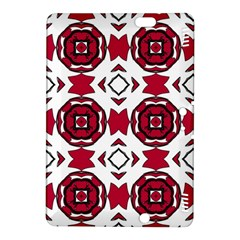 Seamless Abstract Pattern With Red Elements Background Kindle Fire HDX 8.9  Hardshell Case
