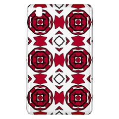 Seamless Abstract Pattern With Red Elements Background Samsung Galaxy Tab Pro 8 4 Hardshell Case