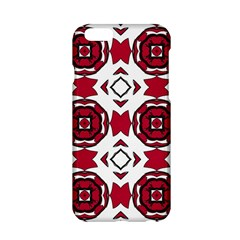 Seamless Abstract Pattern With Red Elements Background Apple Iphone 6/6s Hardshell Case