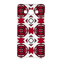Seamless Abstract Pattern With Red Elements Background Samsung Galaxy A5 Hardshell Case